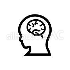 横向きの人の脳
