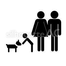 犬をあやす