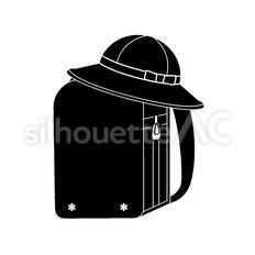 ランドセルと帽子
