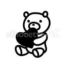 熊とハート