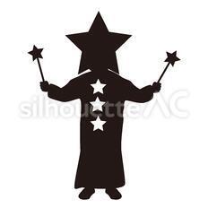 星の被り物をする子供