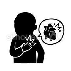 心臓の痛み