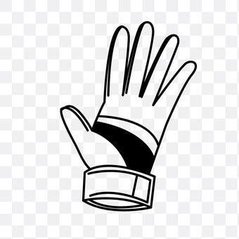 Keeper glove