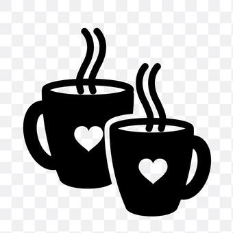 Pair mug