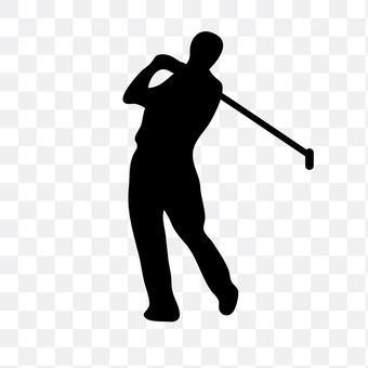 Men who golf