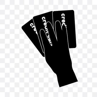 3 credit cards