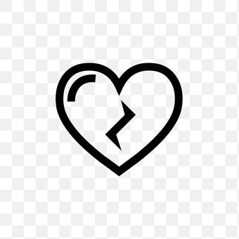 對心臟划痕