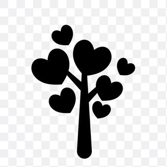 Loveful tree
