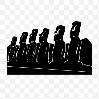 Moai statue