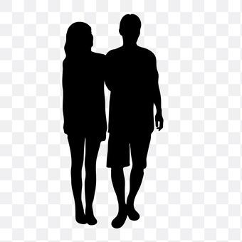 Cuddling couple 5