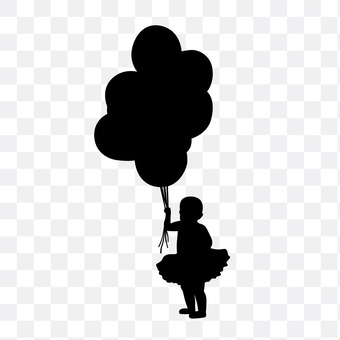 Balloons and girls