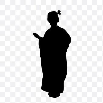 和服的女人