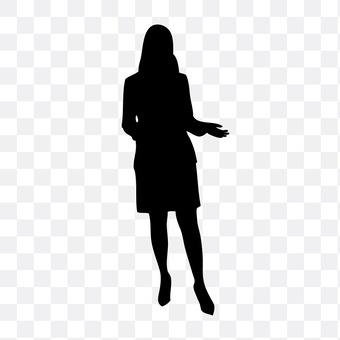 정장 여성 4