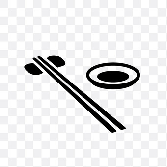 Chopsticks and dishes