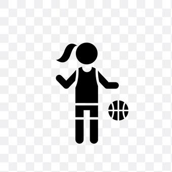 Women's basketball player