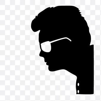 Men of sunglasses