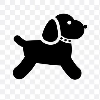 Landscape dog