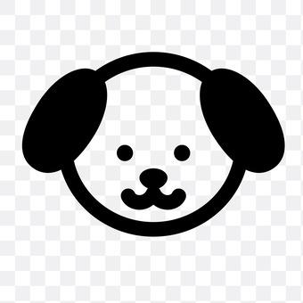 Dog (serious face)