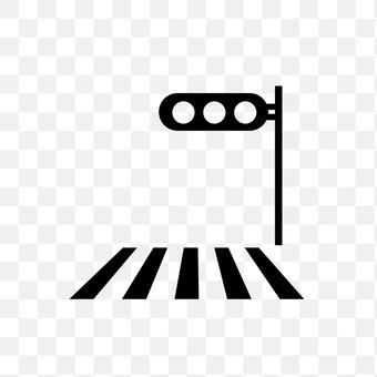 Signal machine and crosswalk