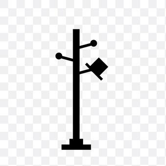 Pole stand