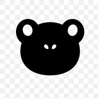 Frog (black)