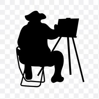 人们谁是画画