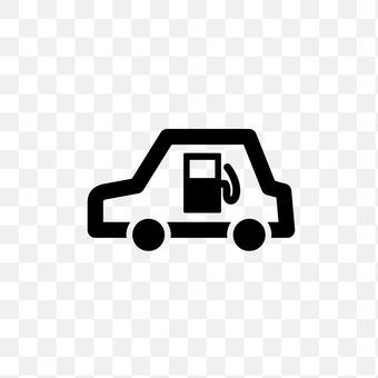 Gasoline car