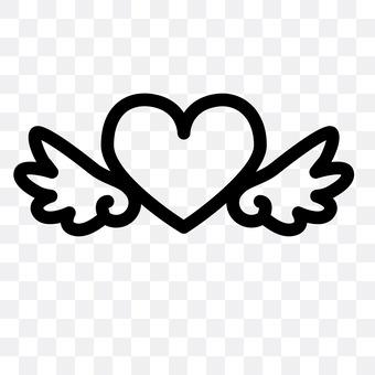 Heart mark