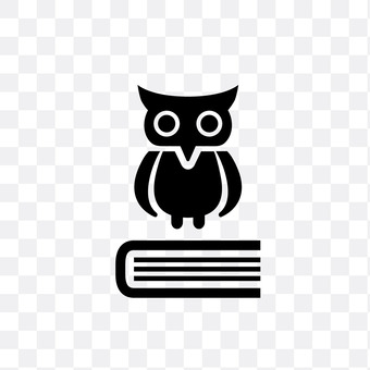 Owl and book