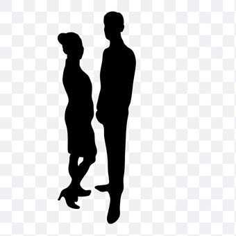 Opposing couple 3