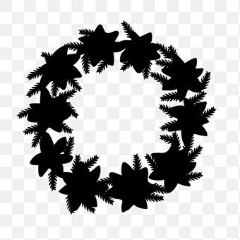 Christmas leaf