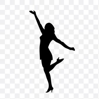 댄서 여성 3