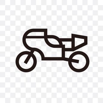 一辆摩托车