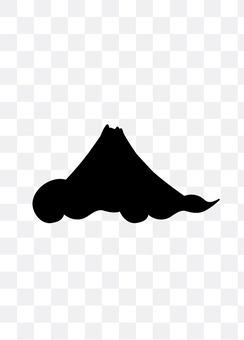 Mount Fuji and clouds