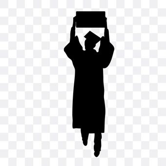 A man with a diploma