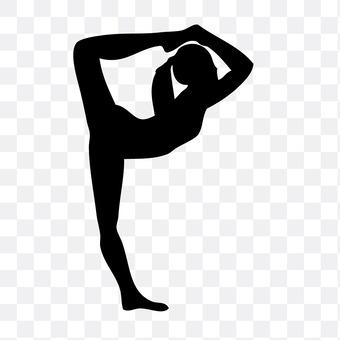 Gymnastics lady 2