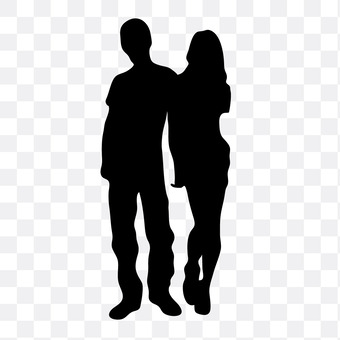 Cuddling couple 19