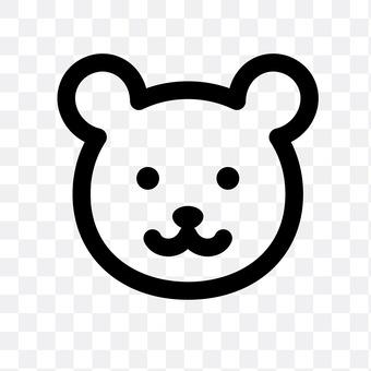 熊(着脸)