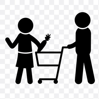 Shopping with couples