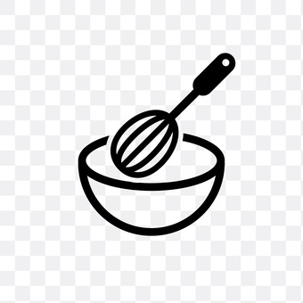 Whisk and bowl