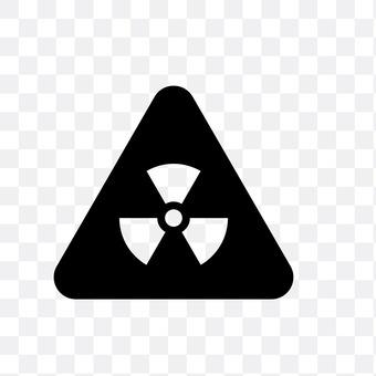 Radioactivity mark