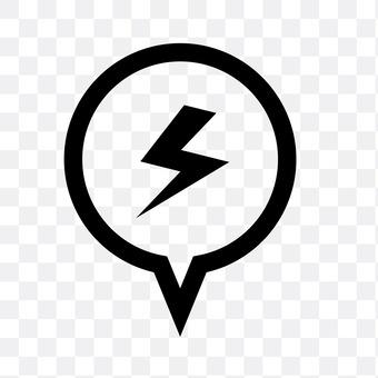 Speech bolt (lightning bolt)