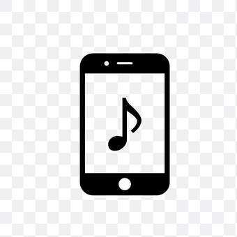 Music on a smartphone