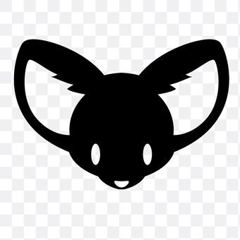 小狐(黑色)