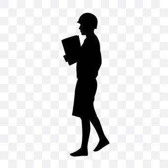 Female employee