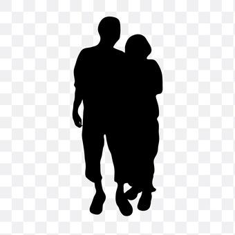 Cuddling couple 27