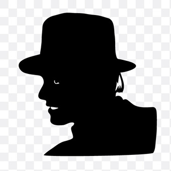 A man with a hat