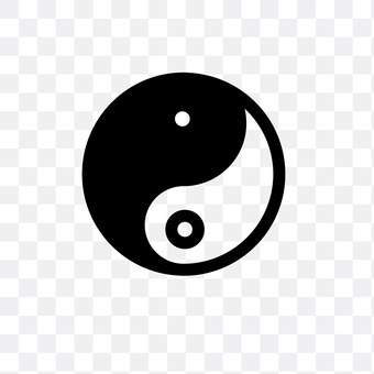 Yin and yang hook jade bar