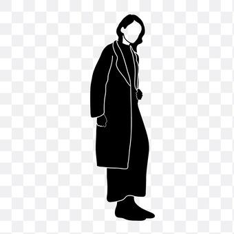 Long coat women
