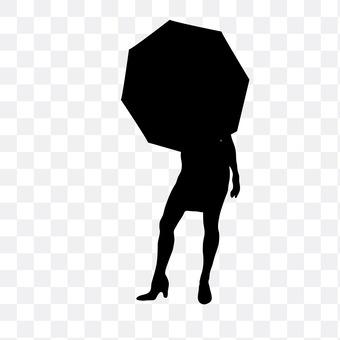 它指的是伞